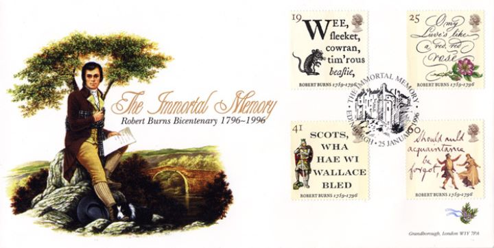 Robert Burns Bicentenary, The Immortal Memory