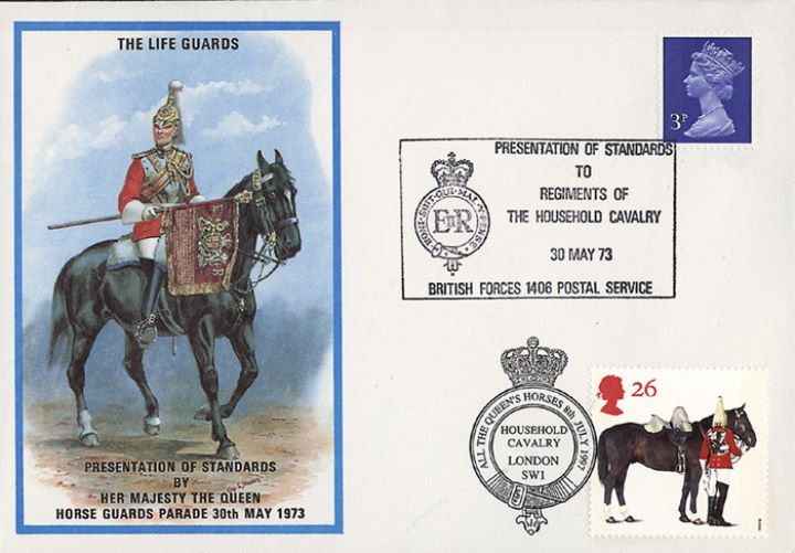 All the Queen's Horses, Lifeguards Presentation of Standards