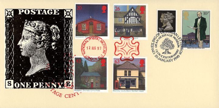 Sub-Post Offices, Penny Black
