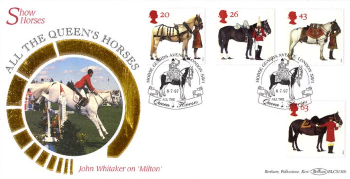 All the Queen's Horses, John Whitaker on 'Milton'