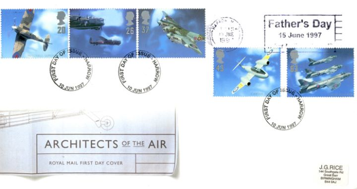 Architects of the Air, Slogan Postmarks