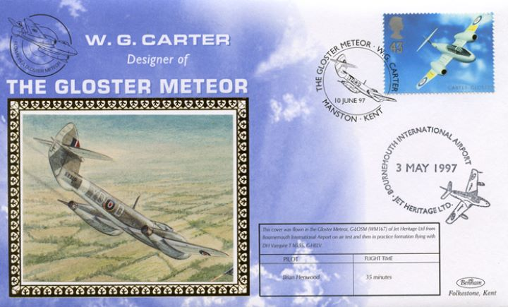 Architects of the Air, Gloster Meteor