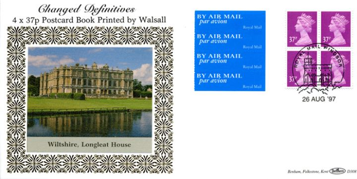 Window: Airmail: £1.48 , Longleat House