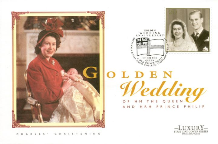 Golden Wedding, Charles Christening
