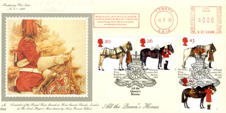 All the Queen's Horses, Royal Artillery