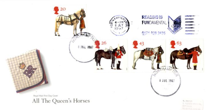 All the Queen's Horses, Slogan Postmarks