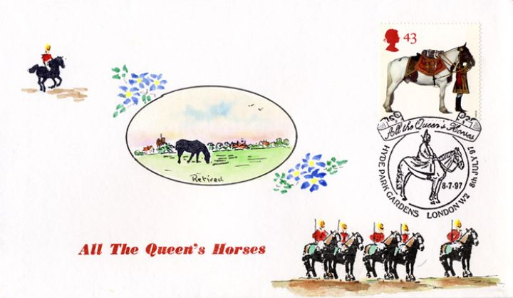 All the Queen's Horses, 'Retired'