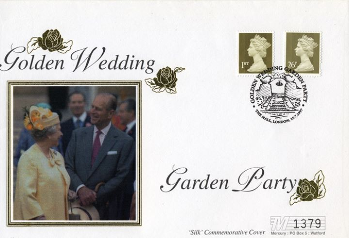 Golden Wedding, Garden Party