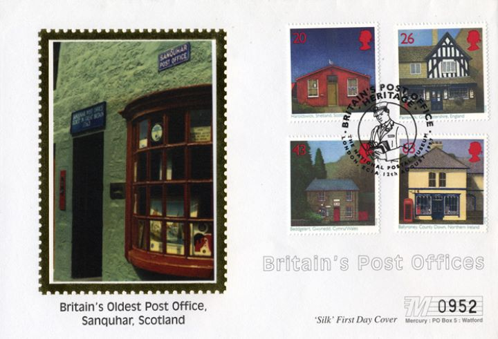 Sub-Post Offices, Sanquhar - the oldest PO in Britain