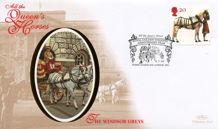 All the Queen's Horses, The Windsor Greys
