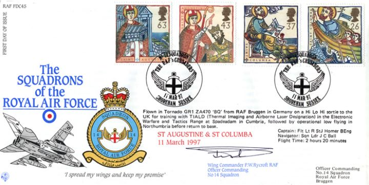 Missions of Faith, Squadrons of the Royal Air Force