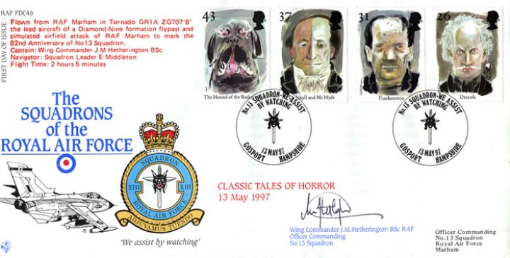 Tales of Terror, Squadrons of the Royal Air Force