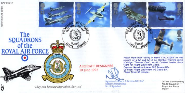 Architects of the Air, Squadrons of the Royal Air Force