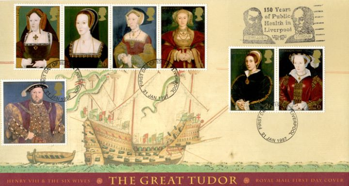 The Great Tudor, Slogan Postmarks