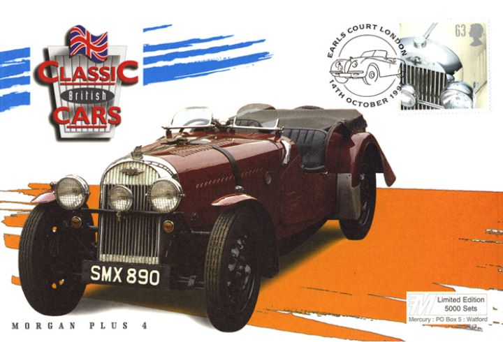 Classic Cars, Morgan Plus 4