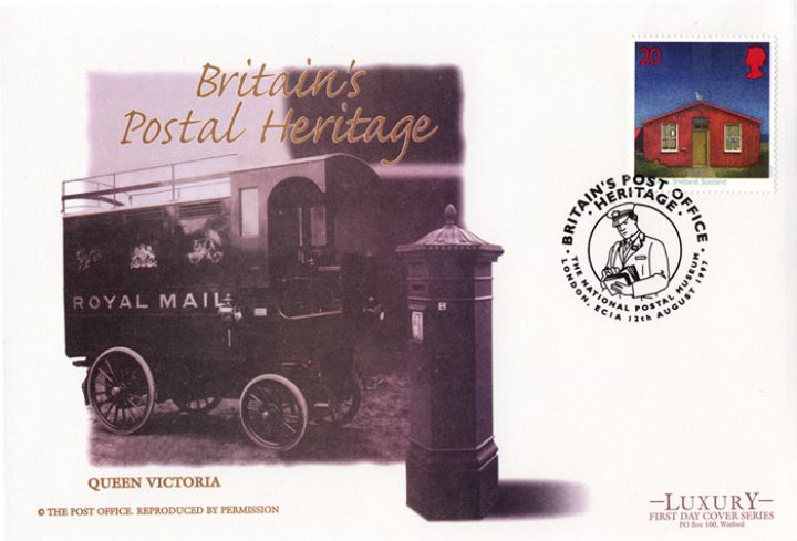 Sub-Post Offices, Royal Mail Van and Pillar Box