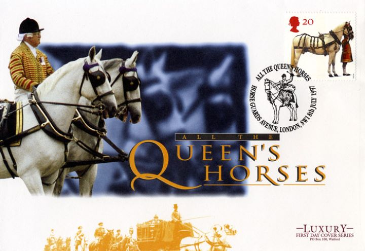 All the Queen's Horses, Horse Guard's Avenue