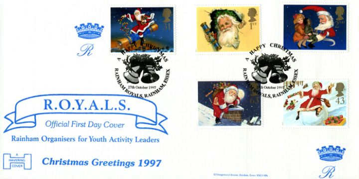 Christmas 1997, Rainham Youth Activity Leaders