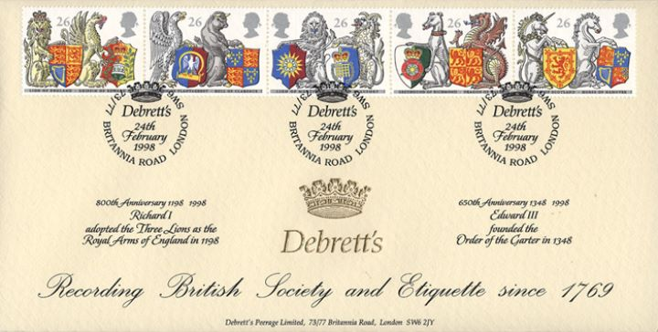 Queen's Beasts, Debretts