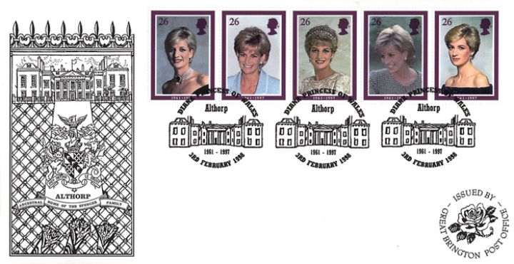 Diana, Princess of Wales, Great Brington PO official