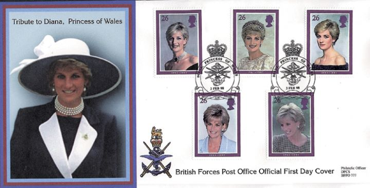 Diana, Princess of Wales, Forces