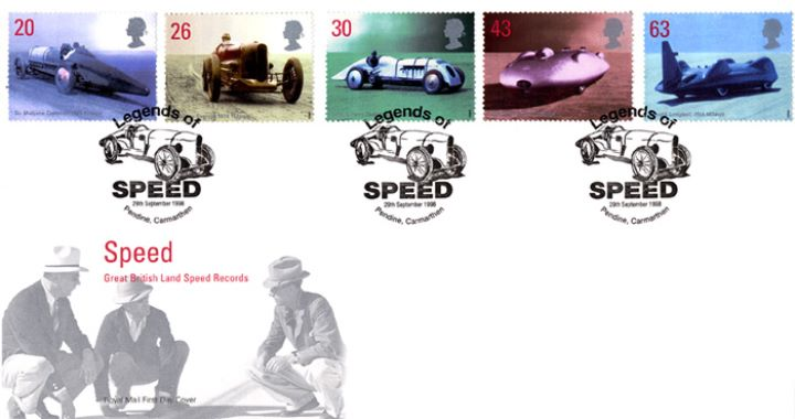 Speed, Great British Land Speed Records