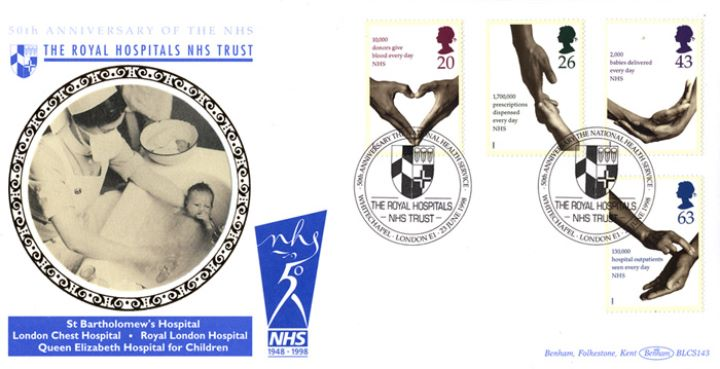 Health Service, Nurse and Baby
