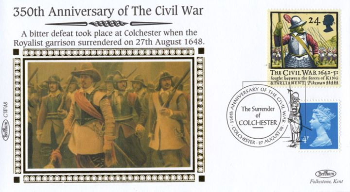 English Civil War, The Surrender of Colchester