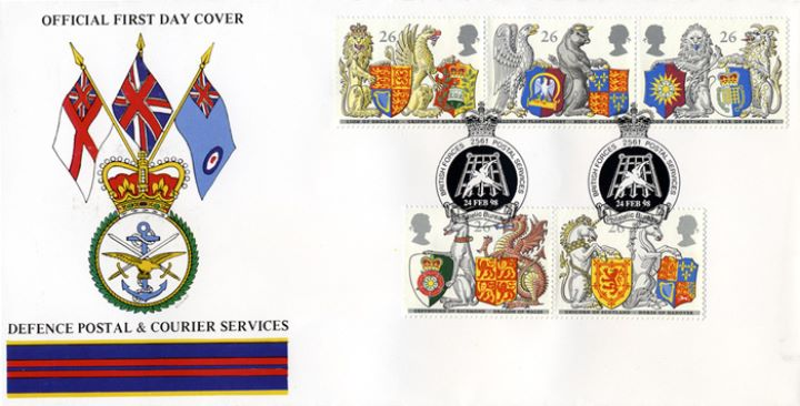 Queen's Beasts, Defence Postal & Courier Services