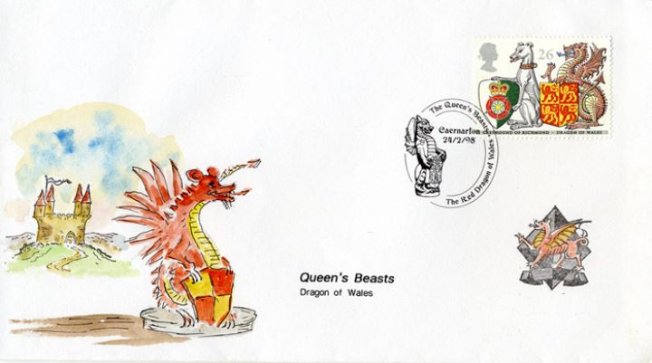 Queen's Beasts, Dragon of Wales