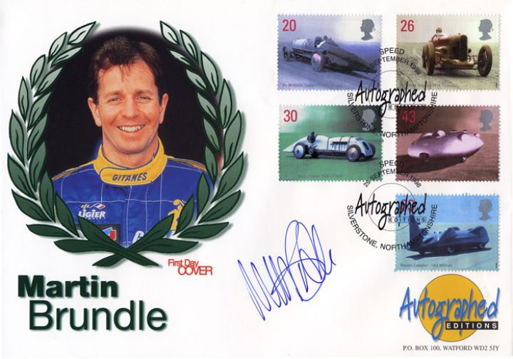 Speed, Martin Brundle