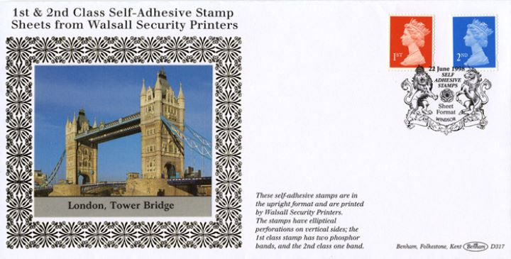 Machins (EP): 1st & 2nd Self Adhesive, Tower Bridge