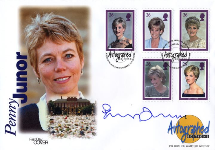 Diana, Princess of Wales, Penny Junor