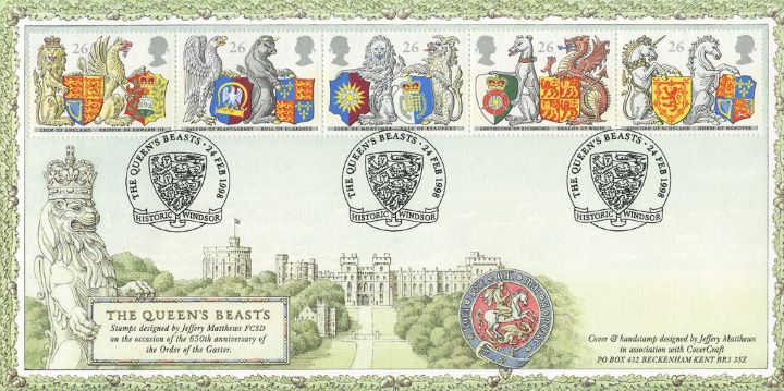 Queen's Beasts, Windsor Castle