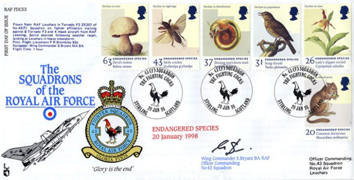 Endangered Species, Squadrons of the Royal Air Force