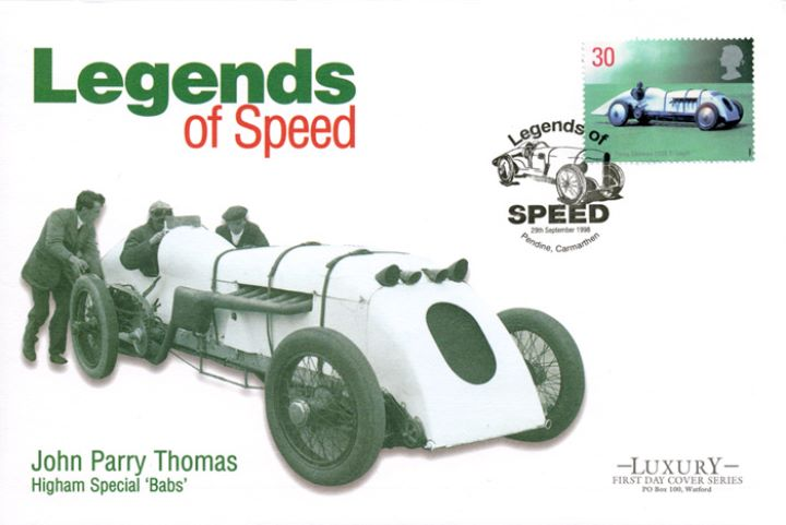 Speed, John Parry Thomas