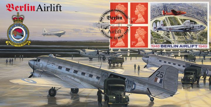 Window: Berlin Airlift, Dakotas Yorks & Hastings