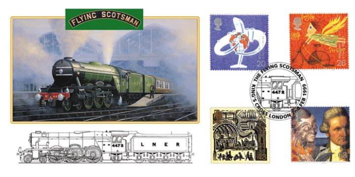 Travellers' Tale, Flying Scotsman