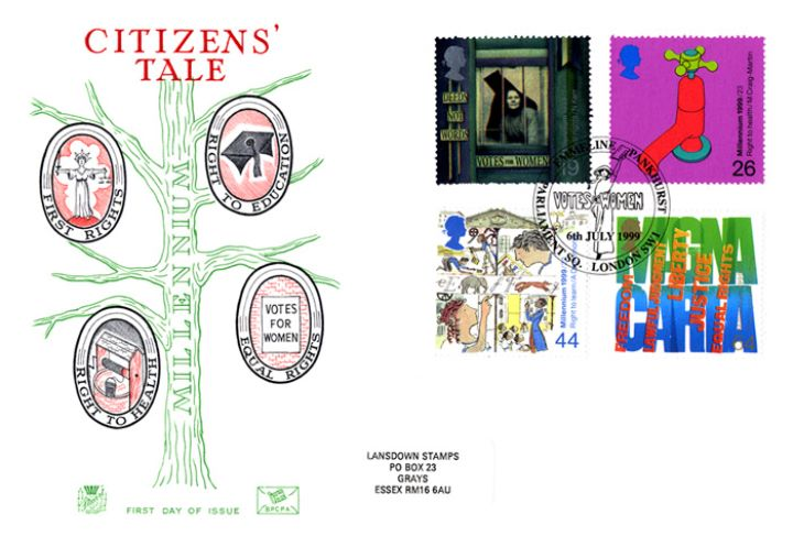 Citizens' Tale, Millennium Cover No. 7