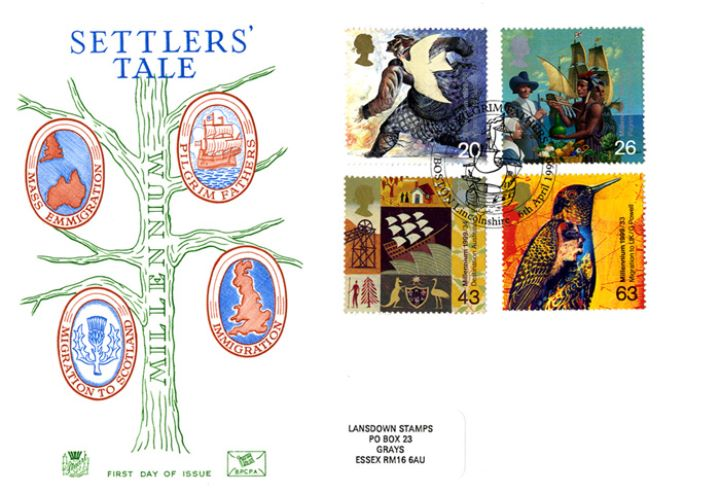 Settlers' Tale, Millennium Cover No. 4