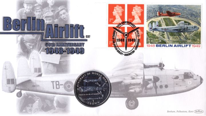 Window: Berlin Airlift, 50th Anniversary