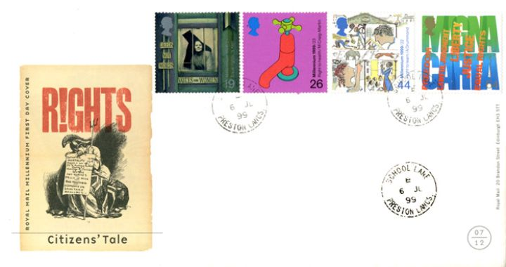 Citizens' Tale, CDS Postmarks