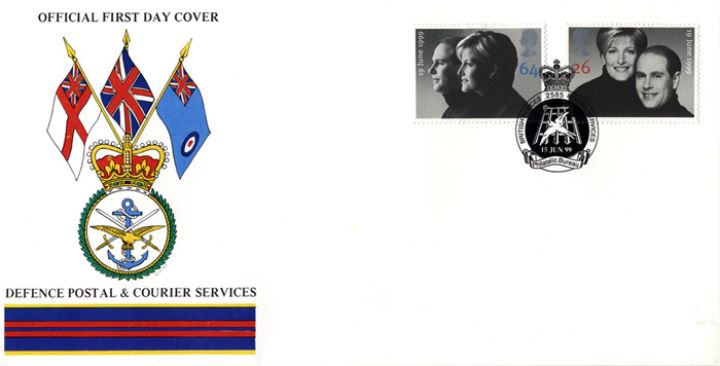Royal Wedding 1999, Defence Postal & Courier Services