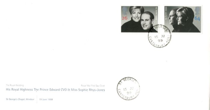 Royal Wedding 1999, CDS Postmarks
