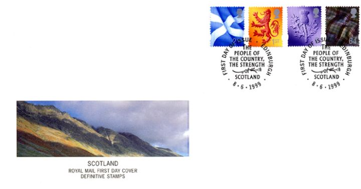 Scotland 2nd, 1st, E, 64p, Scottish Fells