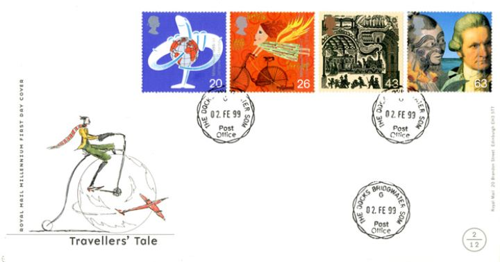 Travellers' Tale, CDS postmarks