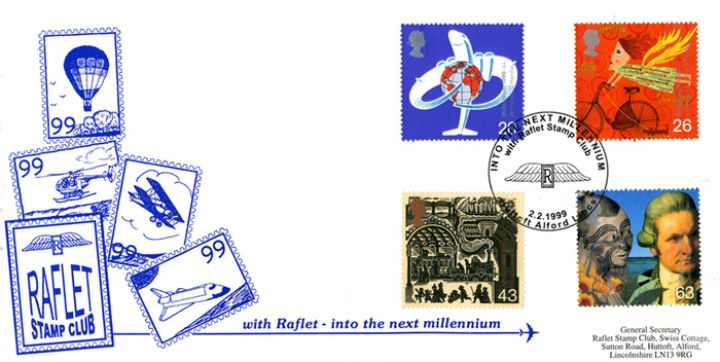 Travellers' Tale, RAFLET Stamp Club