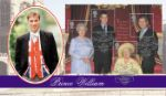 04.08.2000 Queen Mother: Miniature Sheet William at Windsor Bradbury