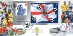 21.05.2002 World Cup: Miniature Sheet Past & Present Football Stars Bradbury, Windsor No.16