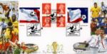 21.05.2002 Self Adhesive: World Cup Football Heroes Bradbury, Windsor No.16